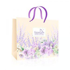 """Papiertasche """"Sanfte Orchidee"""" (200*250*100 mm)"""