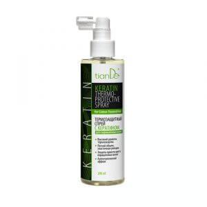 Thermoschutzspray mit Keratin für gefärbtes Haar, 200 ml