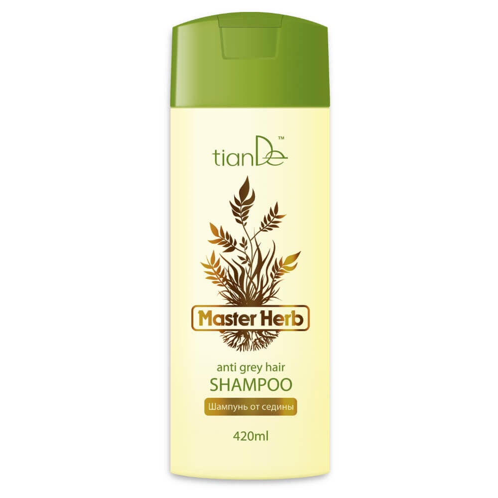 Shampoo gegen graue Haare, 420 ml › tianDe Kosmetik