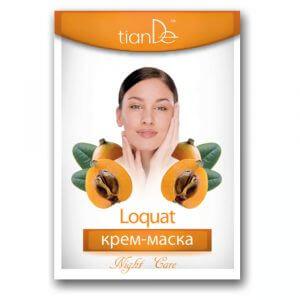 Nachtcreme - Gesichtsmaske Mispel, 18 g