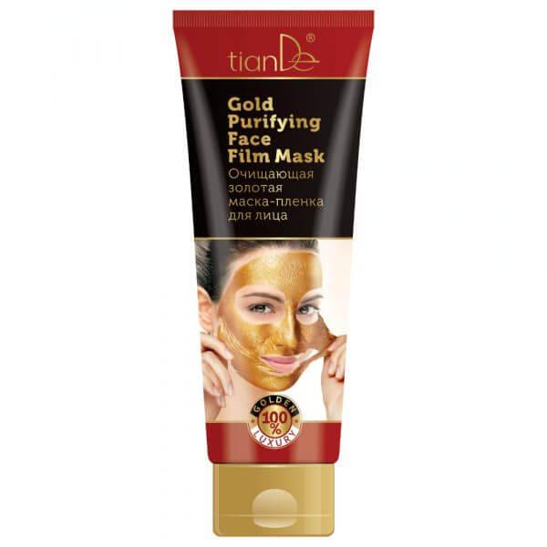 Ablösbare Reinigungs - Gesichtsmaske Gold, 130 ml
