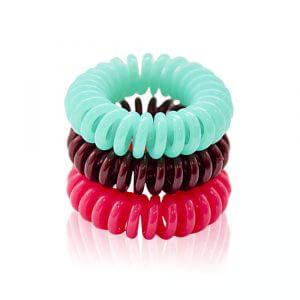 Set Super Haarbänder 3 Stk (beige, rosa, minze)