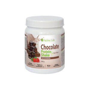 Schokoladenprotein-Shake mit Guarana