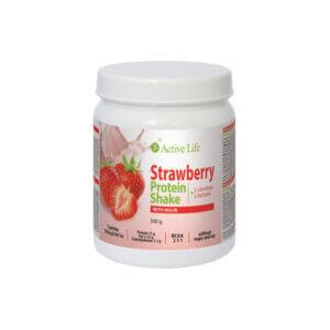 Erdbeerprotein-Shake mit Inulin 300g