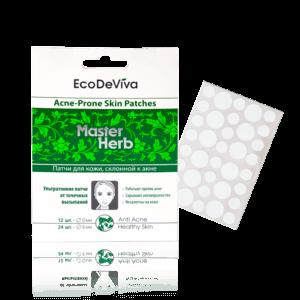 Master Herb-Pflaster für Haut mit Neigung zur Akne-36 Stck.
